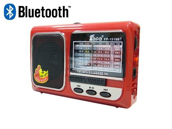 Радиоприемник Fepe FP-1519BT (USB,Bluetooth)/80 27