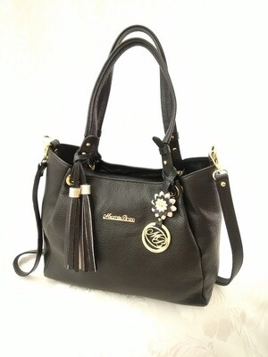 Bag Mod. Diana344 Black  Leather