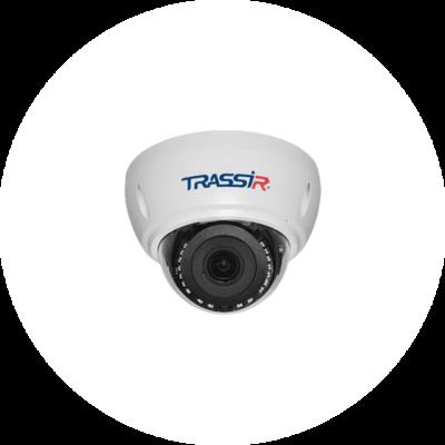 4 Мп камера TRASSIR TR-D3142ZIR2 с motor-zoom