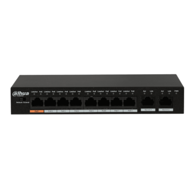 Неуправляемый 8-портовый Fast Ethernet PoE-коммутатор Dahua DH-PFS3010-8ET-96