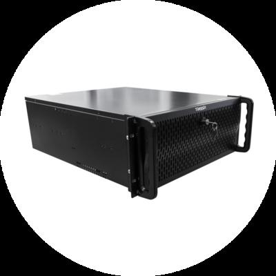 Мощный 64-канальный стоечный NVR на TRASSIR OS – TRASSIR QuattroStation