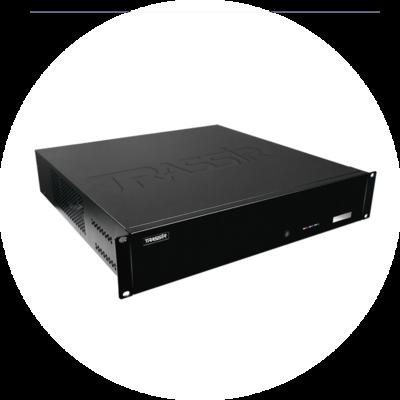 64-канальный NVR TRASSIR QuattroStation 2U на TRASSIR OS