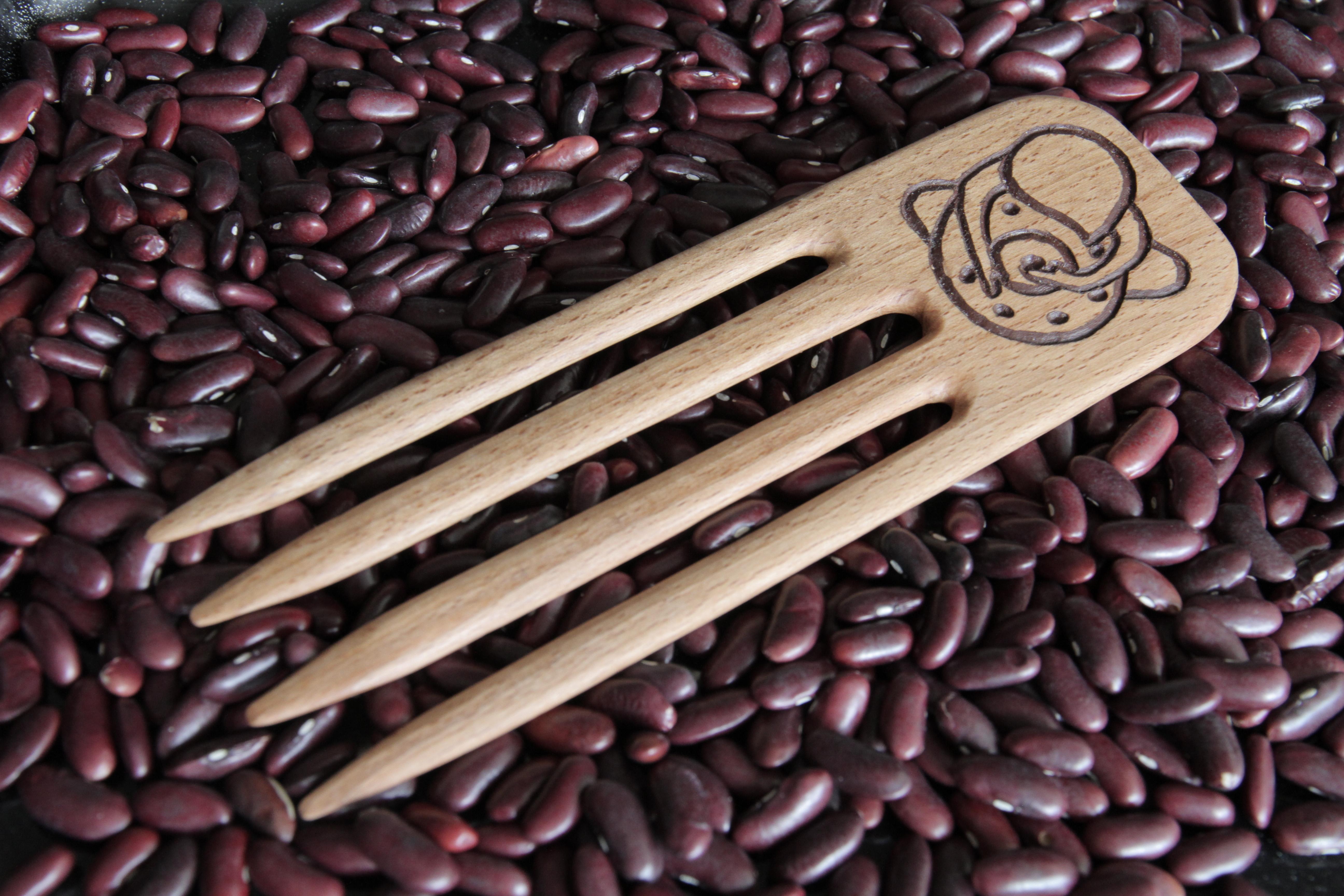 Гребень для волос. Handmade wooden comb comb-1