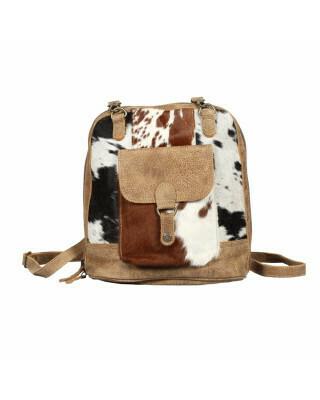 Leathered Pocket Backpack