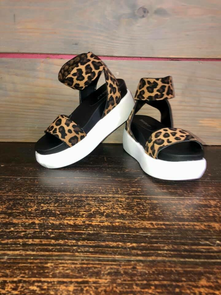 Sassy Leopard Sandals