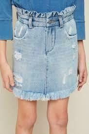 Dosi-Do Denim Skirt