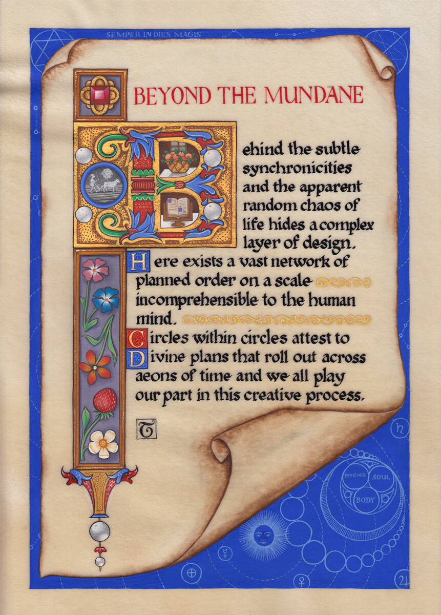 Beyond the mundane