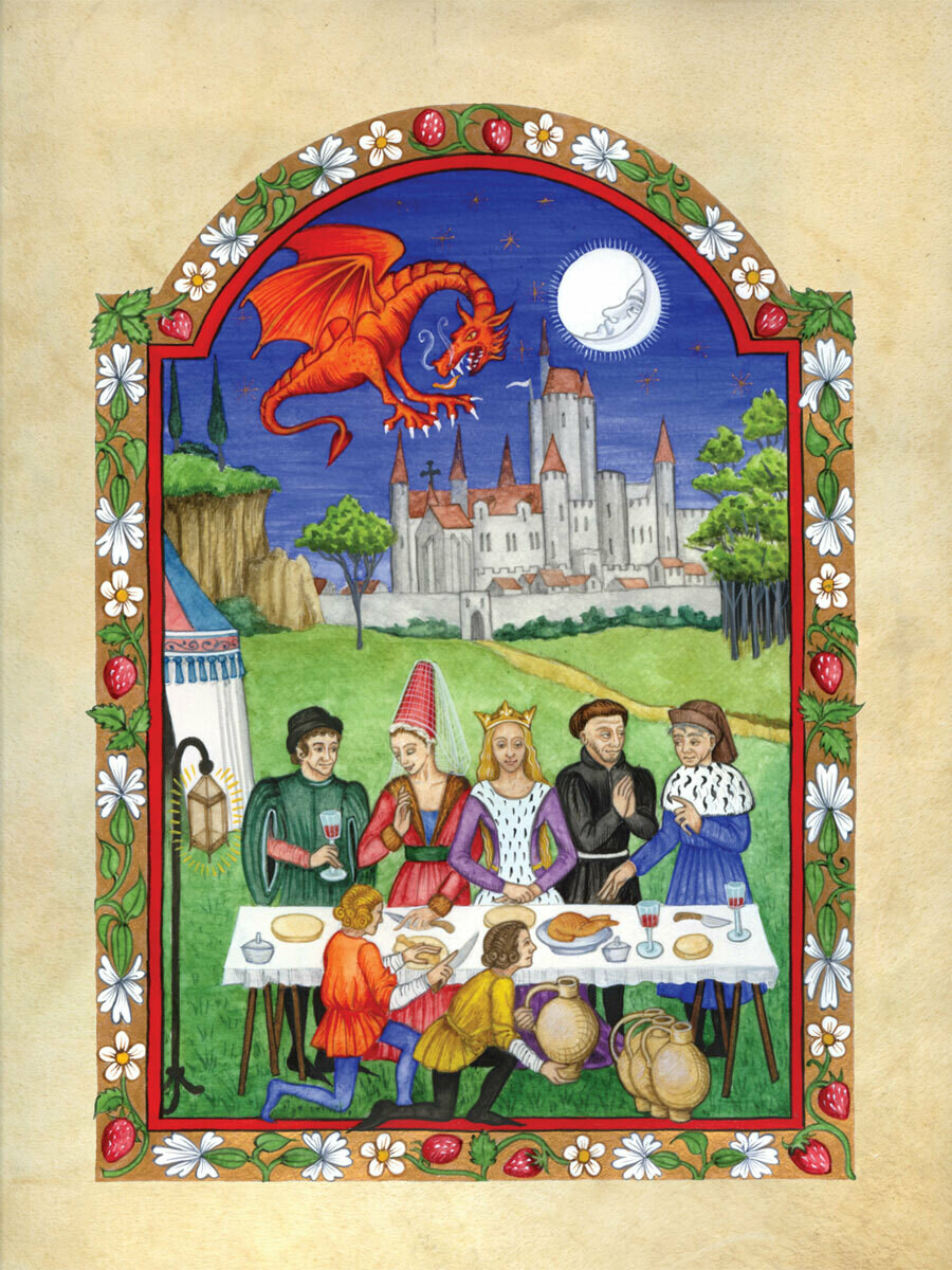 Feast with dragon