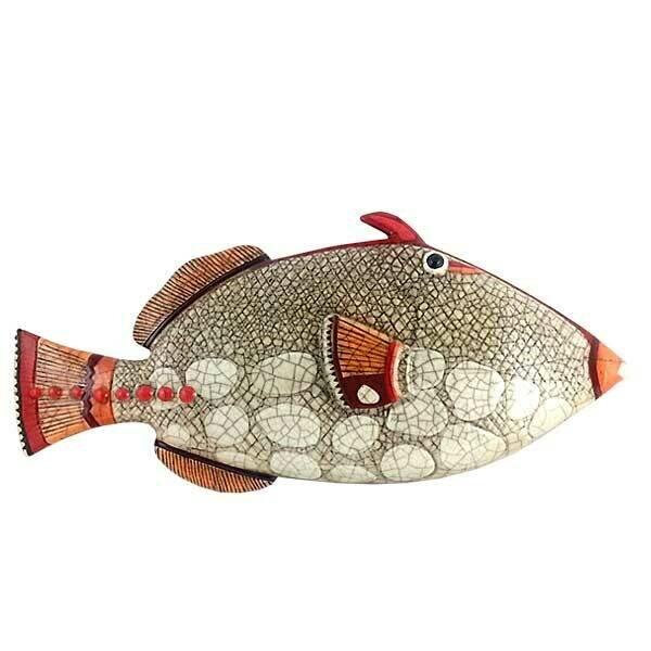 Ceramic Triggerfish P Hanging