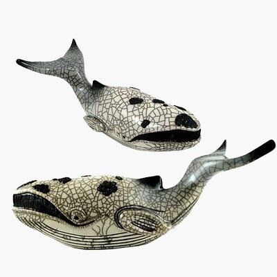 Whale Medium Raku