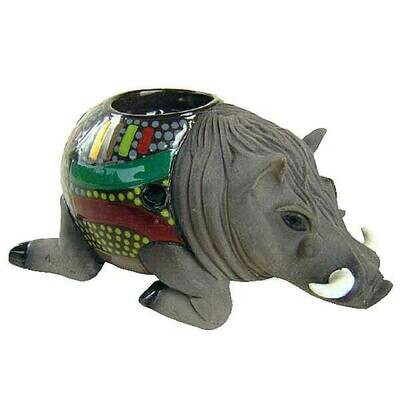 Warthog Candle Holder