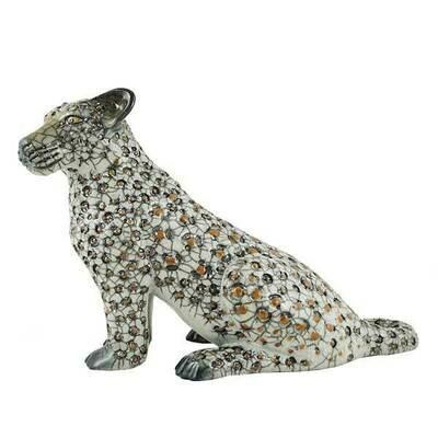 Leopard sitting