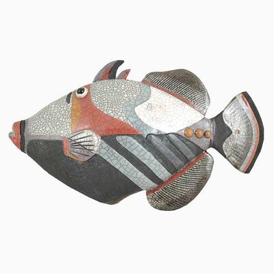 Fish Picasso (Large) wall mounted