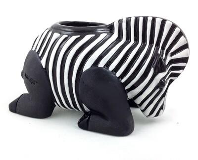 Zebra T - Light Candle holder