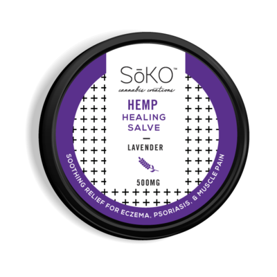 Soko Hemp CBD Lavender Topical