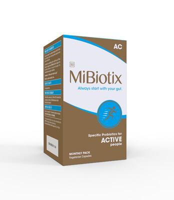 MiBiotix ACTIVE AC Capsules 30's