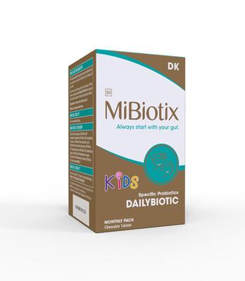 MiBiotix DAILYBIOTIC KIDS DK Chews 30's