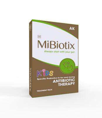 MiBiotix ANTIBIOTIC THERAPY AK Chews 10's