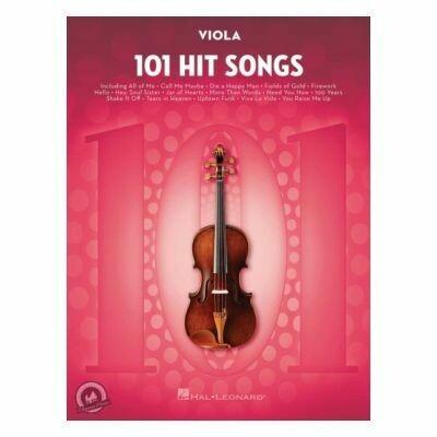 101 Hit Songs for Viola