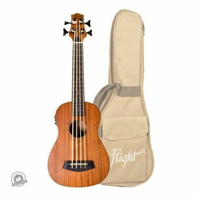 Flight: DU-BASS Electro-Acoustic Bass Ukulele (With Bag)