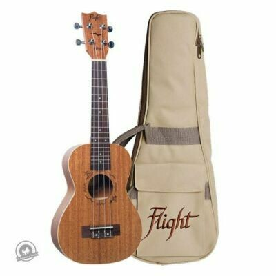 Flight: DUC323 Mahogany Concert Ukulele (With Bag)