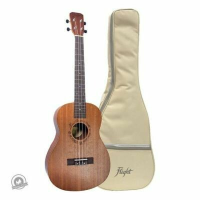 Flight: NUB310 Sapele Baritone Ukulele With Bag (With Bag)