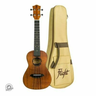 Flight: JULC Juliana Concert Ukulele Solid Koa (With Bag)