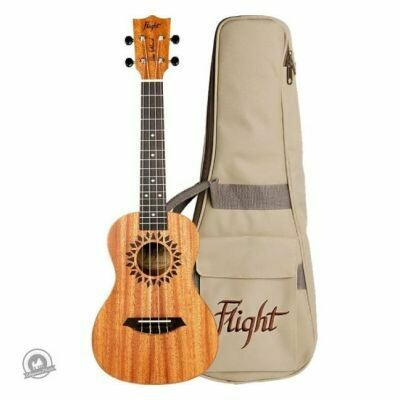 Flight: Elise Ecklund Signature Concert Ukulele (With Bag)