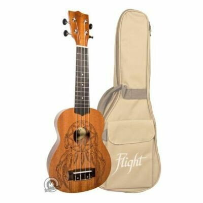Flight: NUS350DC Dreamcatcher Soprano Ukulele (With Bag)