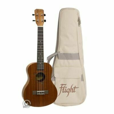 Flight: NUT310 Sapele Tenor Ukulele With Bag (With Bag)