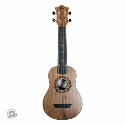Flight: TUS50 ABS Travel Ukulele - Walnut