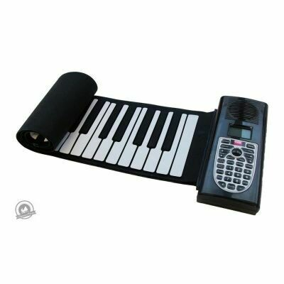 Pure Tone: Roll-Up Piano (61 Keys Multi-Function Electronic Keyboard)