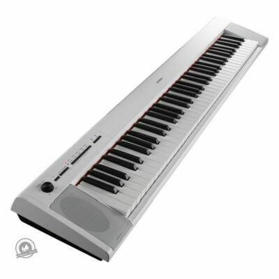 Yamaha NP-32 Piaggero Slimline Home Keyboard (In Black Finish)