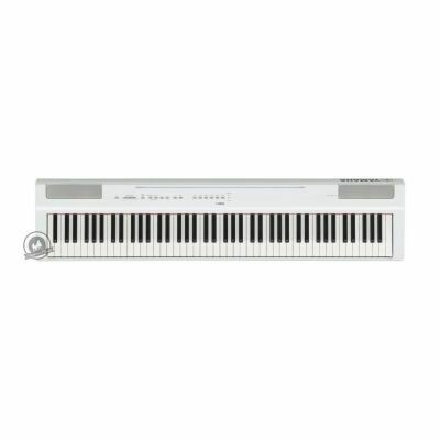 Yamaha P-125 Portable Digital Piano (In White Finish)