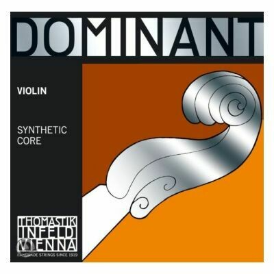 Dominant Violin E 1/2 Chrome Steel Loop End*R