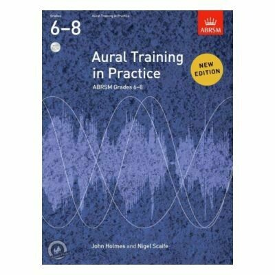ABRSM Aural Training in Practice Grades 6-8 (Book with 3CD)