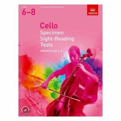 ABRSM Cello Specimen Sight-Reading Tests, Grades 6-8 (from 2012)