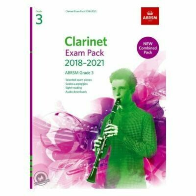 ABRSM Clarinet Exam Pack Grade 3 2018-2021