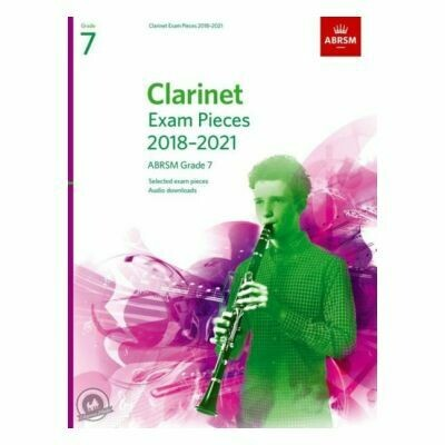 ABRSM Clarinet Exam Pieces Grade 7 2018-2021