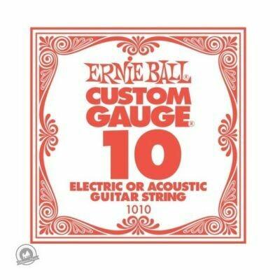 Ernie Ball .010 Plain Ballend Guitar String