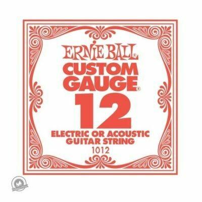 Ernie Ball .012 Plain Ballend Guitar String