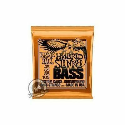 Ernie Ball Hybrid Slinky Bass Guitar Strings (Set)