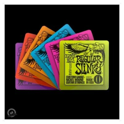 Ernie Ball Slinky Coasters (Set of 6)