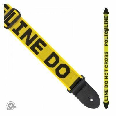 Perri's Nylon Guitar Strap - Police Line - Do Not Cross