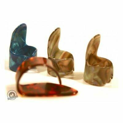 TGI Plectra Thumb and Finger Pick Set Plastic