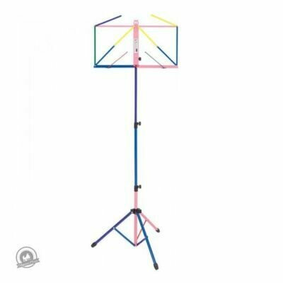 Kinsman Deluxe Music Stand with Bag Multi-Coloured