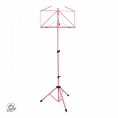 Kinsman Deluxe Music Stand with Bag Pink