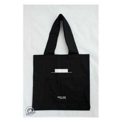Tote Bag Black Take A Rest