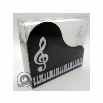 Memo Note Set Black Keyboard Design