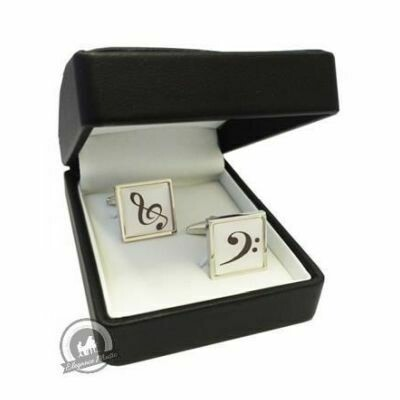 Cufflinks Square Clefs